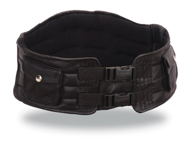 First Manufacturing Co. Leather Back Support Belt