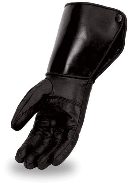 First Manufacturing Co. Leather Cold Weather Gauntlet Gloves