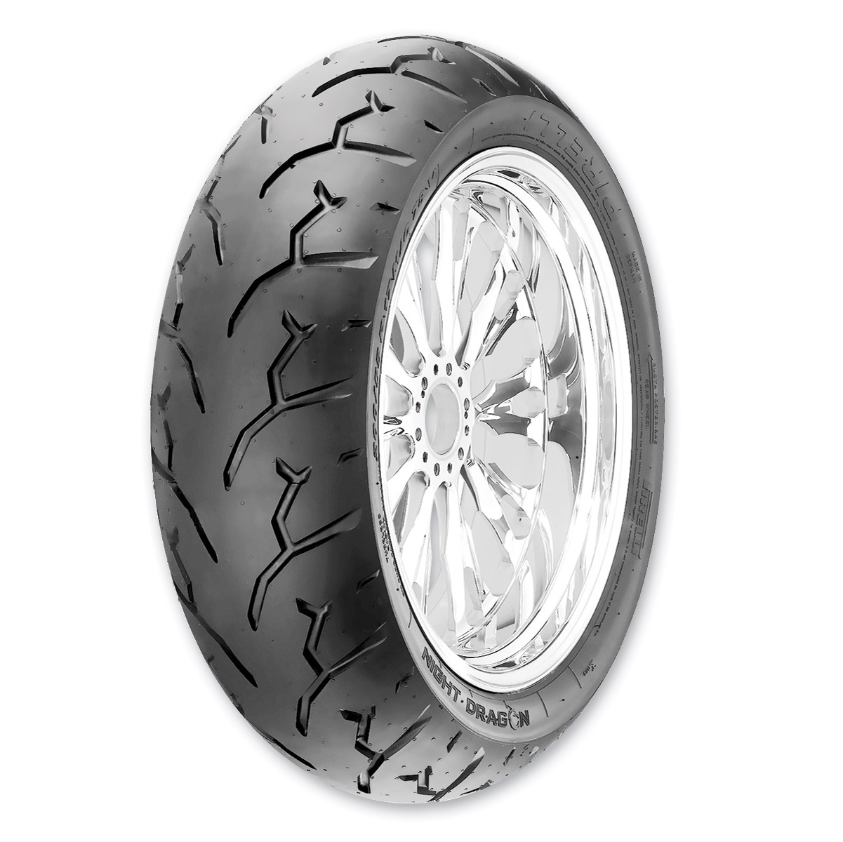 Pirelli Night Dragon 180/65B16 Rear Tire