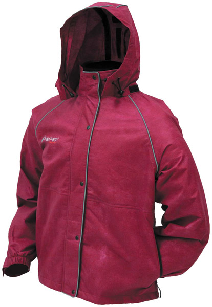Frogg Toggs Tekk Toad Rainwear Cherry Women′s Jacket