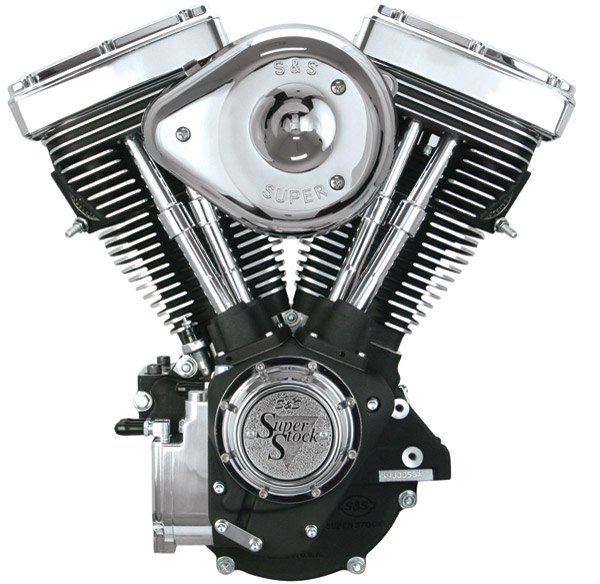 S&S Cycle 80″ Super E, 508 Cam Engine