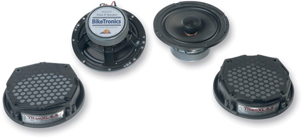 Biketronics Titan II 6-1/2″ Coaxial Speaker Upgrade Kit