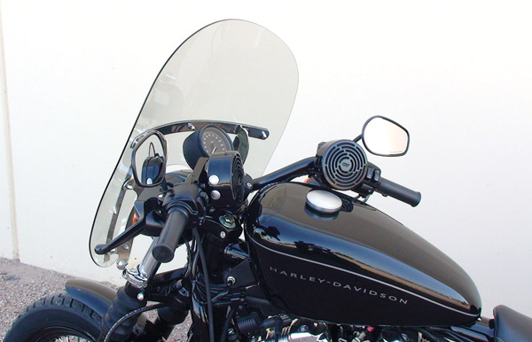 J&M Self-Amplified Handlebar Speaker Kit