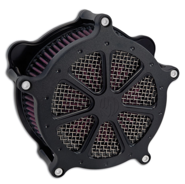 Roland Sands Design Speed 7 Black Ops Aircleaner