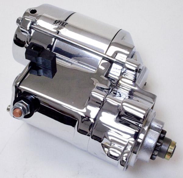 Spyke Starters 1.4 kW Hi-Torque Starter Polished