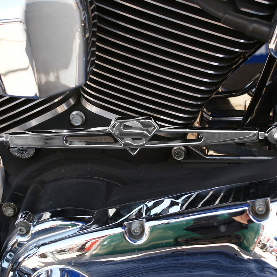 California Custom Cruisers Superman Logo Shift Linkage