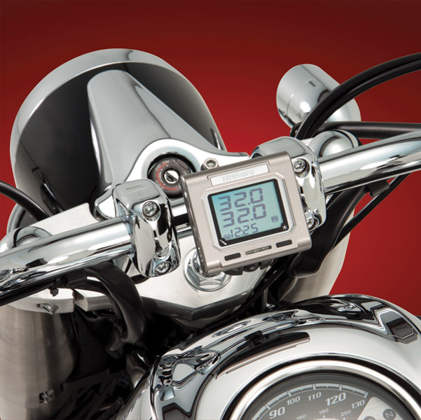 TireGard Wireless Handlebar Tire Pressure Monitoring System