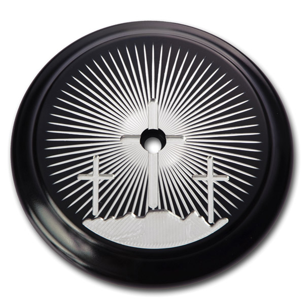 Kingdom Motorcycle Calvary Black Air Cleaner Insert