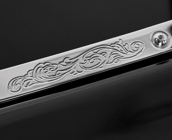 Kingdom Motorcycle Scrollwork Windshield Trim