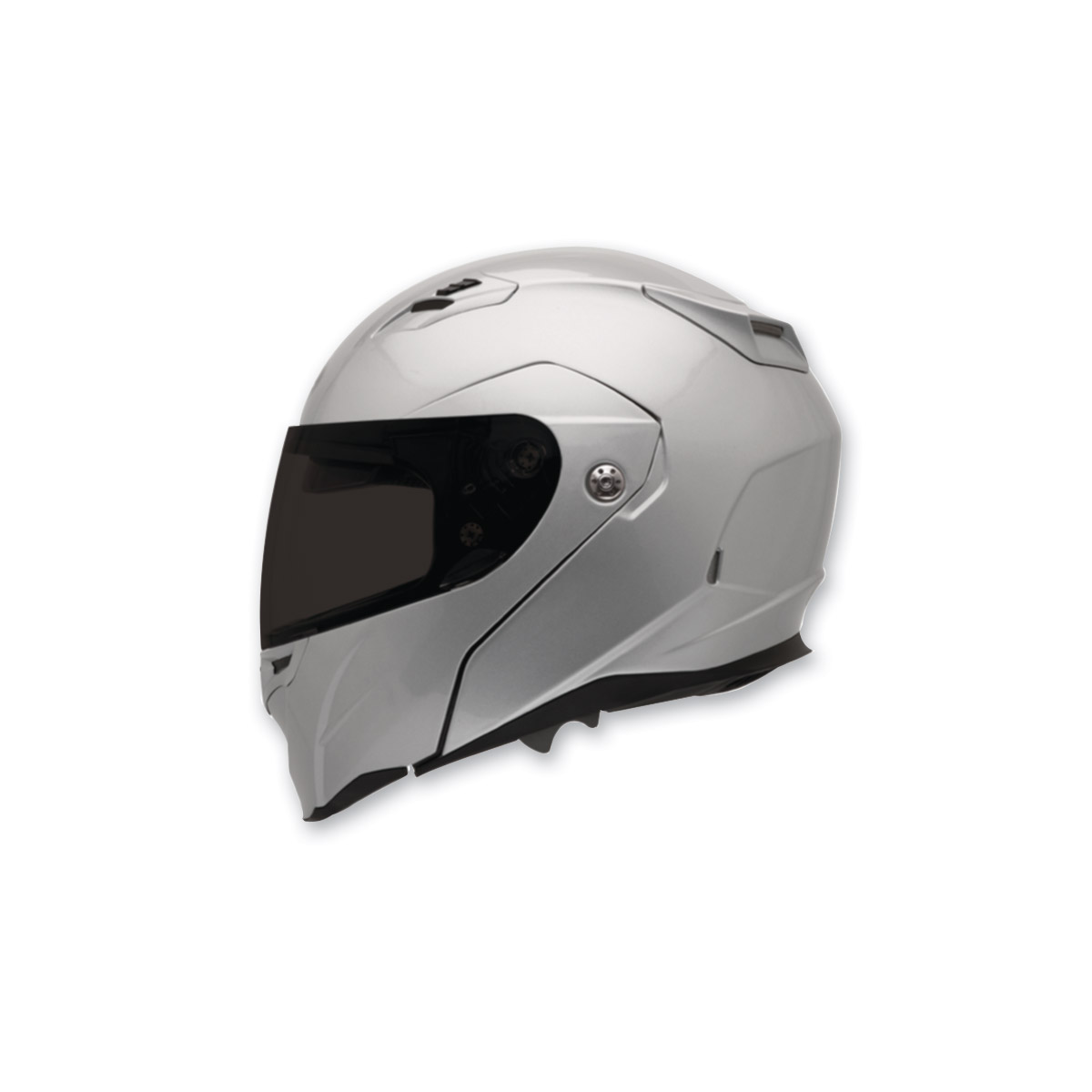 Bell Revolver Evo Metallic Silver Full Face with Face Shield Helmet