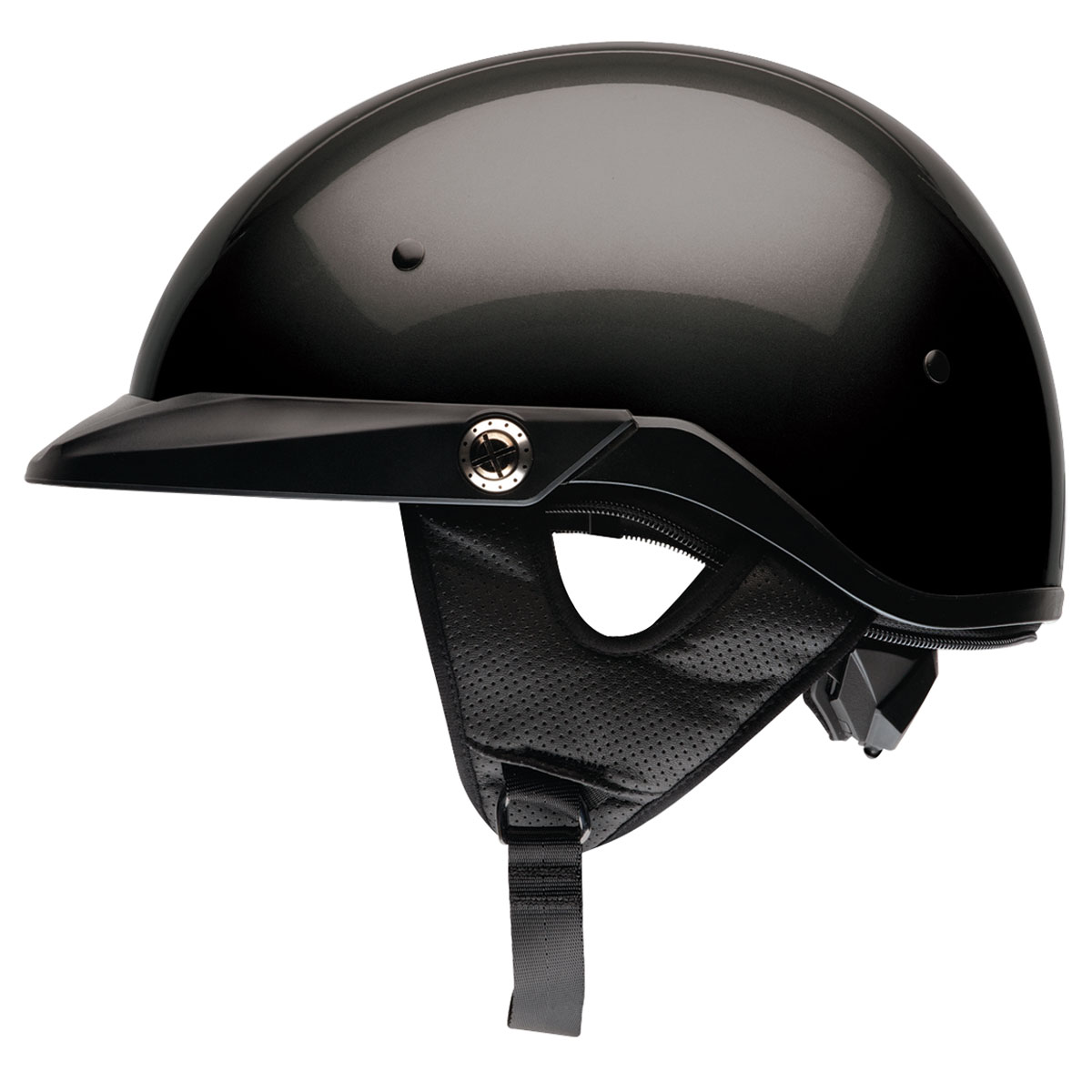 bell pit boss black half helmet | 542-091 | j&p cycles