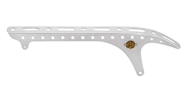 Roland Sands Design Chrome Tracker Belt Guard