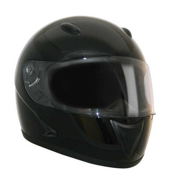HCI-75 Black Full Face Helmet