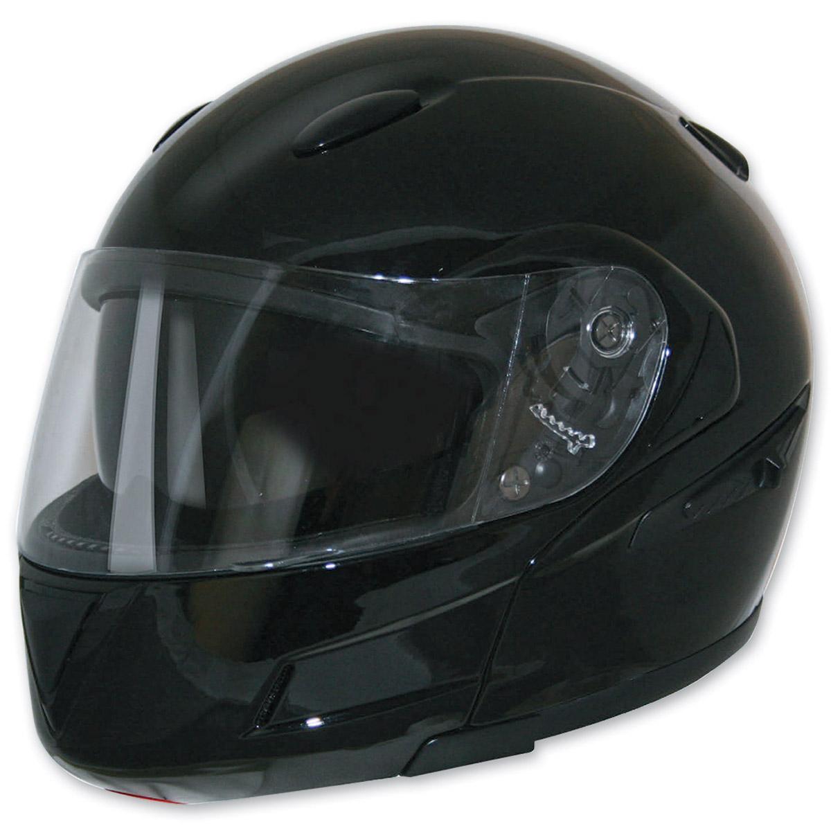 8cfe8f17 HCI-89 Black Modular Helmet - 89-810-06 | JPCycles.com