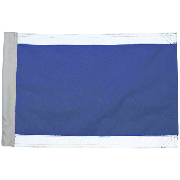 Missing Link Hi-Vis Blue Safety Flag