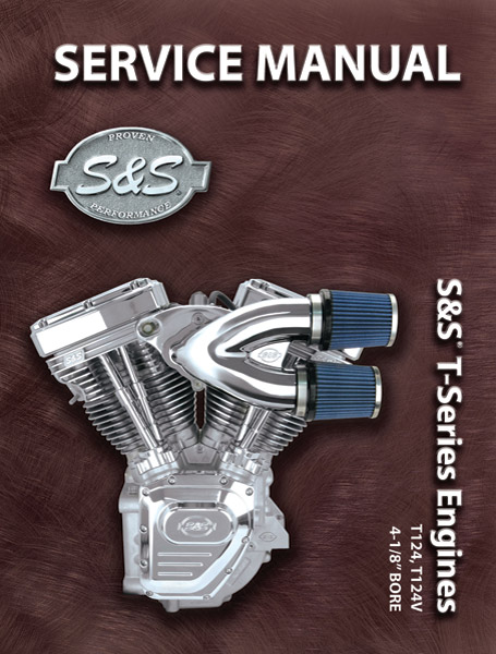 S&S Cycle Service Manual, Engine, SH-Series, w/ P-Series & KN-Series Supplements