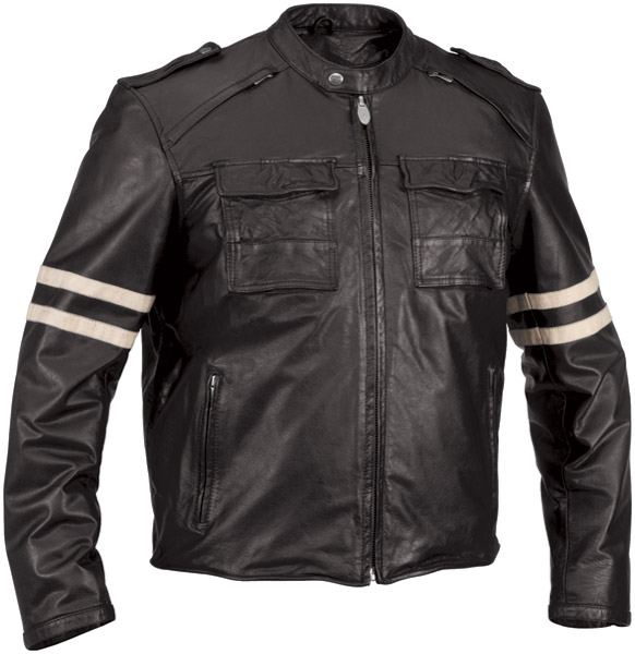 River Road Baron Retro Vintage Leather Jacket