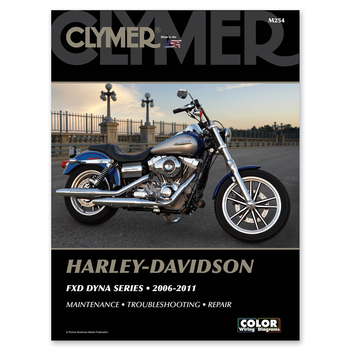 Clymer 2006-11 FXD Dyna Models Repair Manual