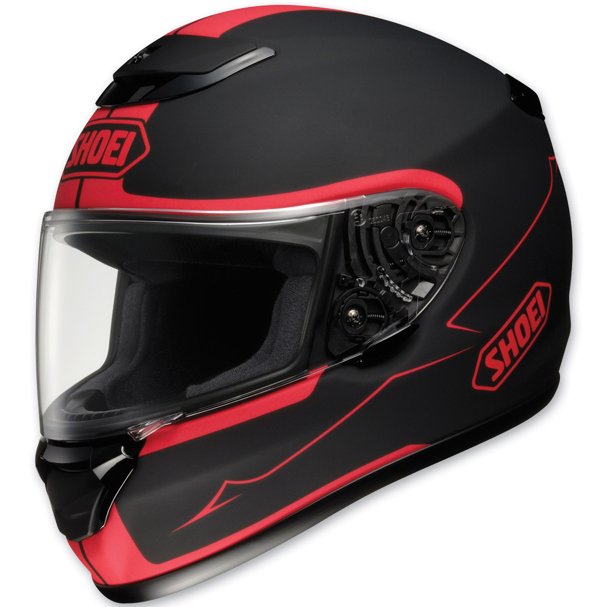 Shoei Qwest Passage Black and Red Full Face Helmet