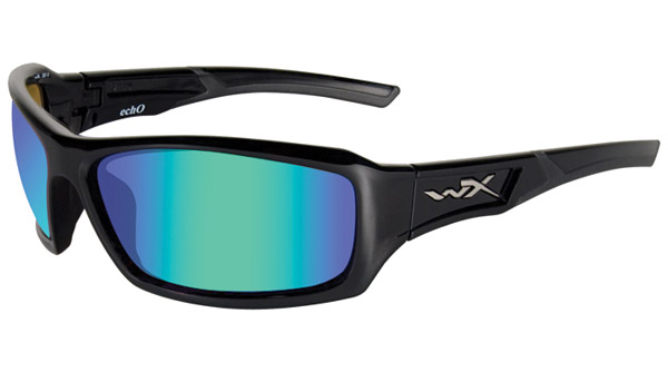 Wiley X Echo Gloss Black Frame Sunglasses
