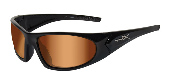 Wiley X Zen Gloss Black Active Series Sunglasses