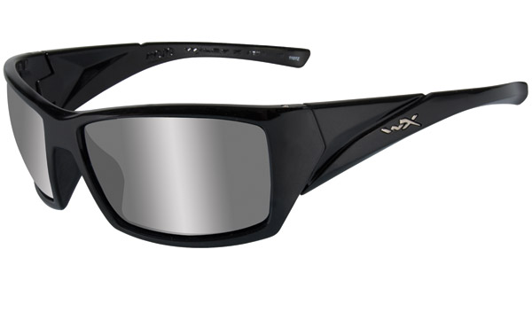 Wiley X Mojo Gloss Black Frame Sunglasses