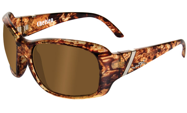 Wiley X Chelsea Iced Tea Frame Sunglasses