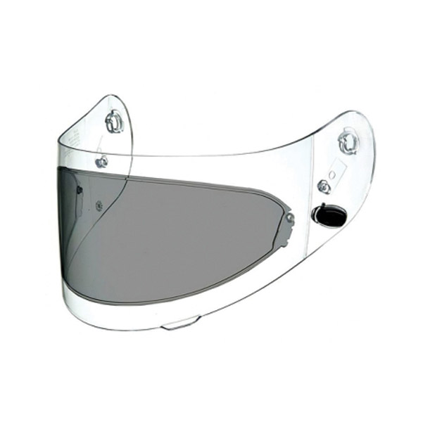 Arai Pinlock Insert Dark Smoke Faceshield for Corsair V/Vector-2/RX-Q Helmets