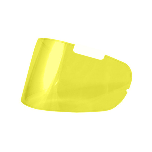 Arai Pinlock Insert Max Brow Yellow Faceshield for Corsair V/Vector-2/RX-Q Helmets