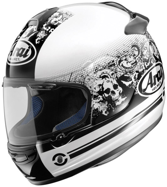 Arai Vector-2 Thrill White Full Face Helmet