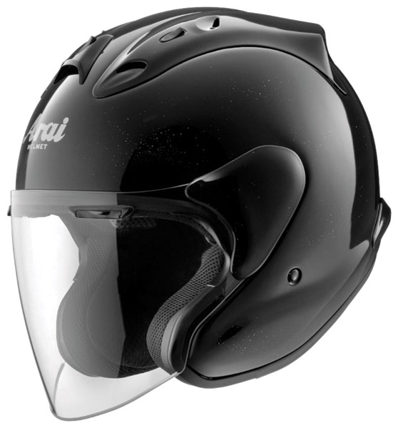 Arai XC-Ram Diamond Black Open Face Helmet