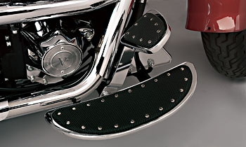 Cycle Smiths Banana Driver Floorboards with Rivets