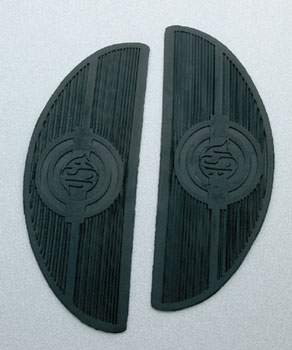 J&P Cycles® Replacement Floorboard Mats
