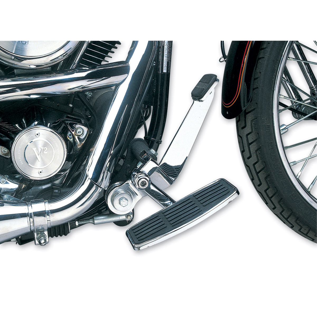 J&P Cycles® Adjustable Driver's Mini-Floorboard Kit