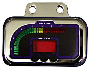Wire Plus Digital Information System: Panel mount digital speedo/tach