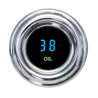 1-7/8″ LED Oil Pressure Gauge