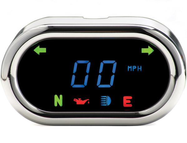 Dakota Digital MCL-5000 Series Classic Oval Speedometer