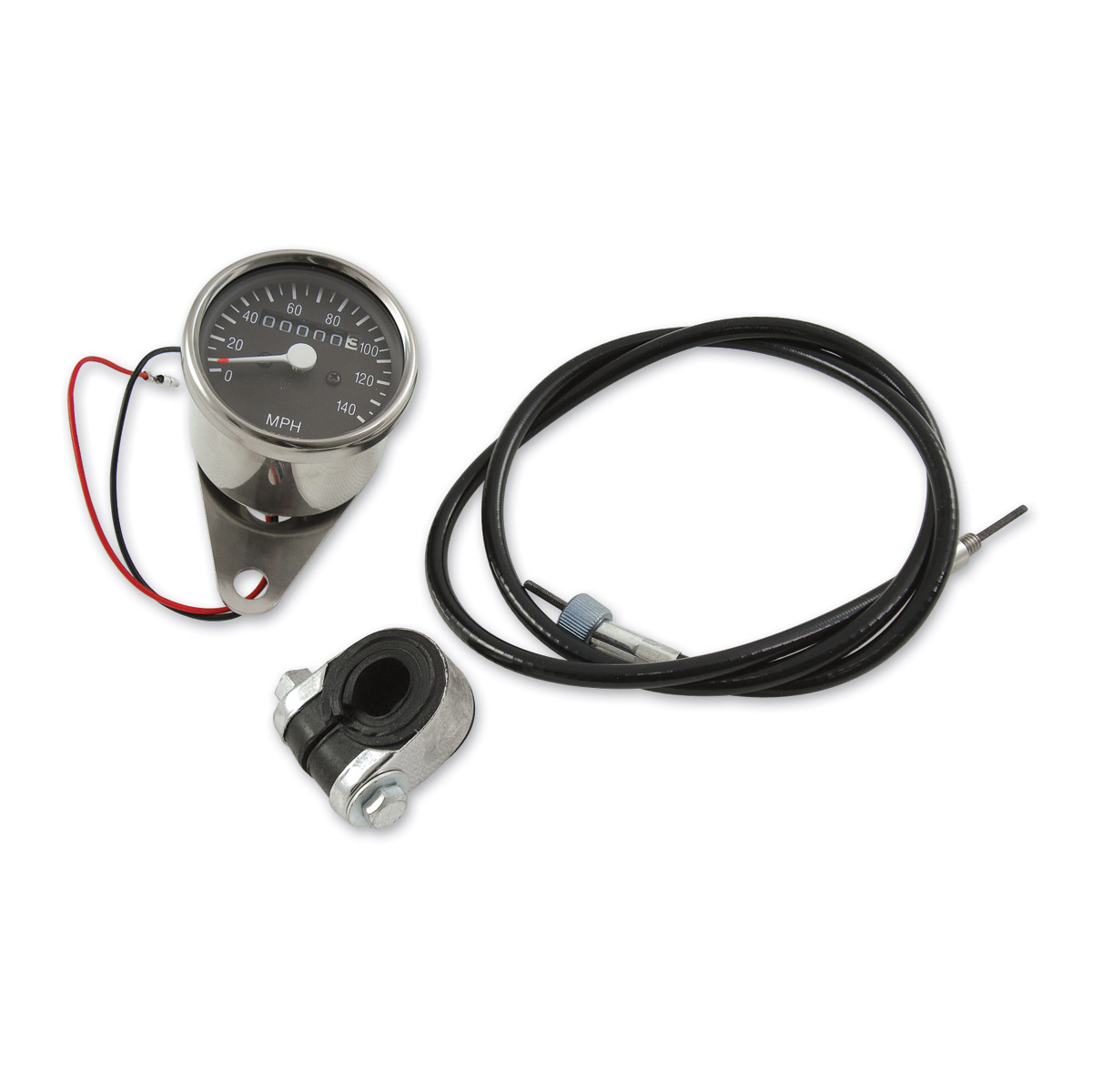 JP Cycles Mini Speedometer Kit
