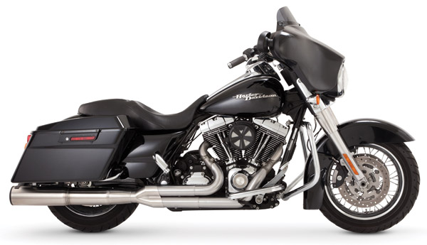 Vance & Hines Hi Output 2 Into 1 Exhaust Stainless Steel