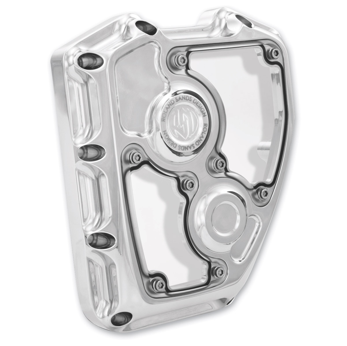 Roland Sands Design Chrome Clarity Timing Cover