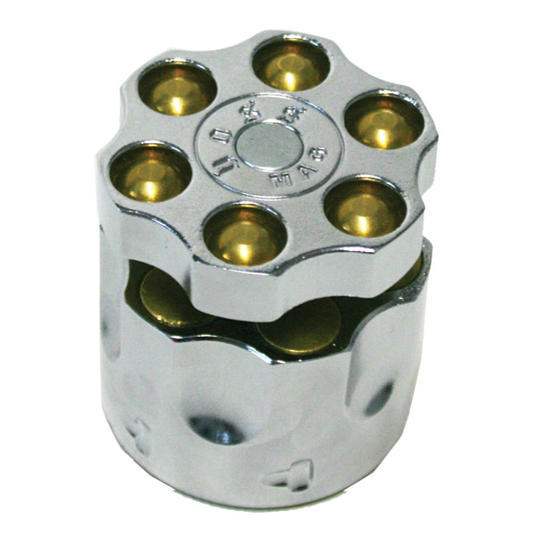 Deemeed Six Shooter Chrome Disc Lock