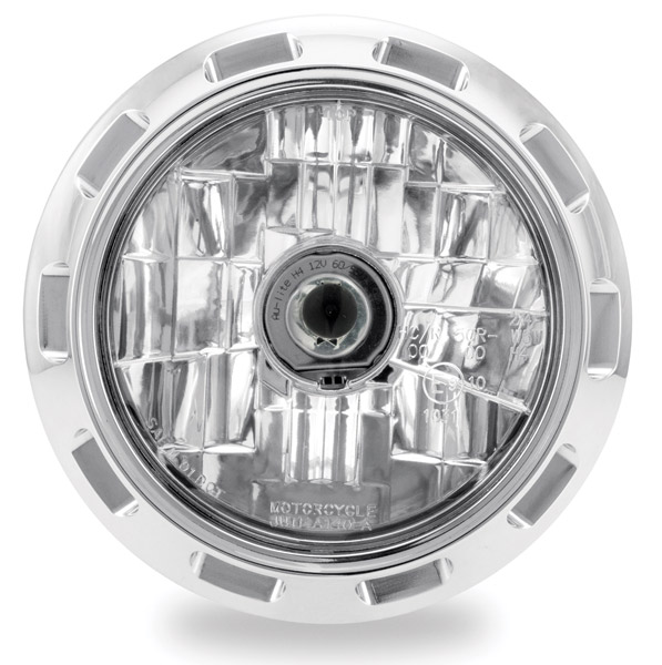 Performance Machine 5-3/4″ Apex Chrome Headlight Assembly