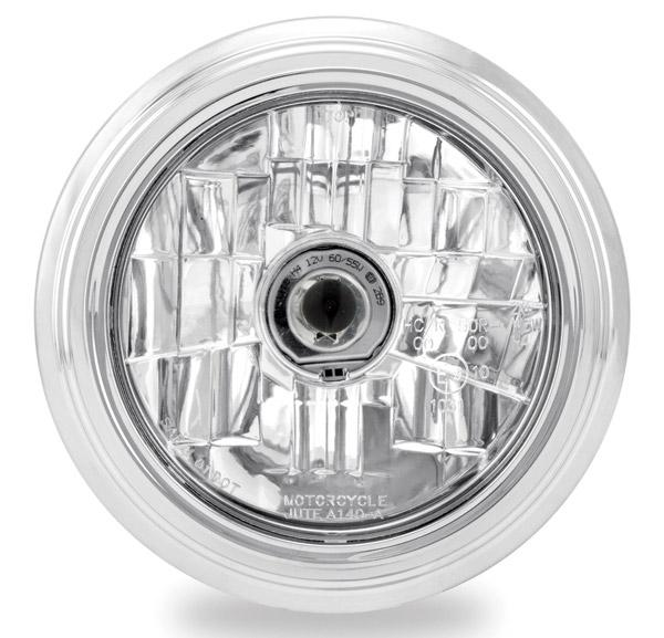 Performance Machine 5-3/4″ Merc Chrome Headlight Assembly