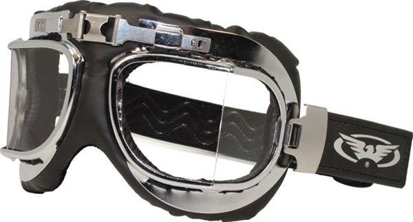 Global Vision Eyewear Classic 2 AF Goggles with Clear Lens