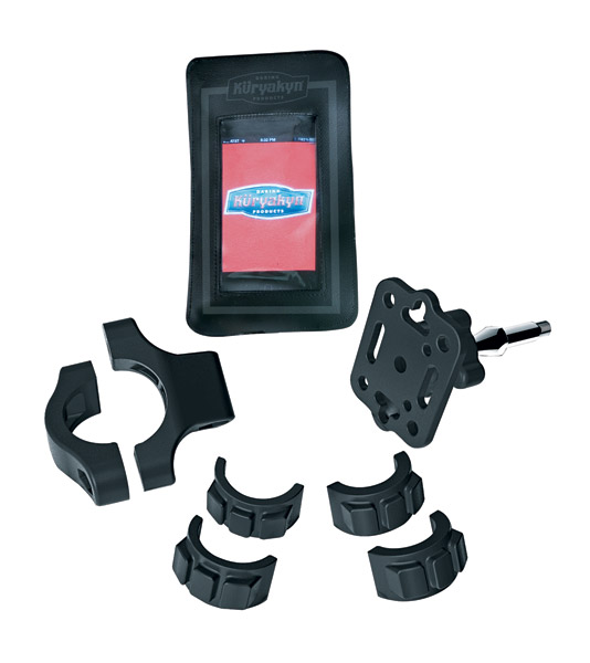 Kuryakyn Tech-Connect Pouch with Handlebar Mount