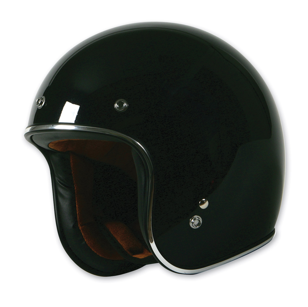 Torc Route 66 T-50 Black Sparkle Helmet
