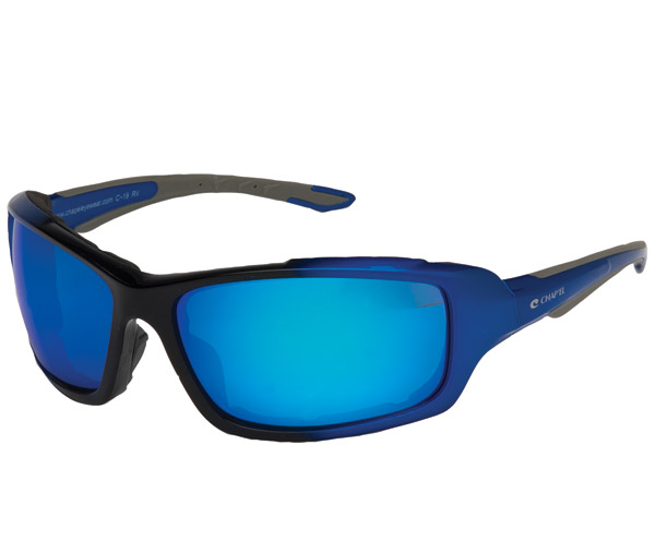 Chap'el Padded Blue Frame with Blue RV Lens