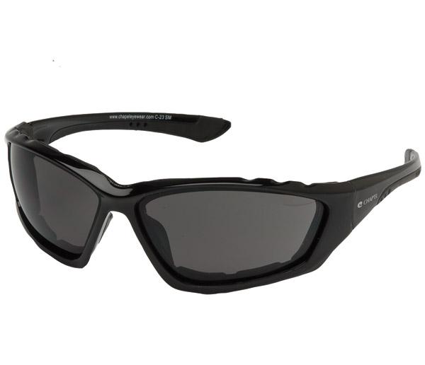 Chap'el Padded Black Frame with Smoke Lens