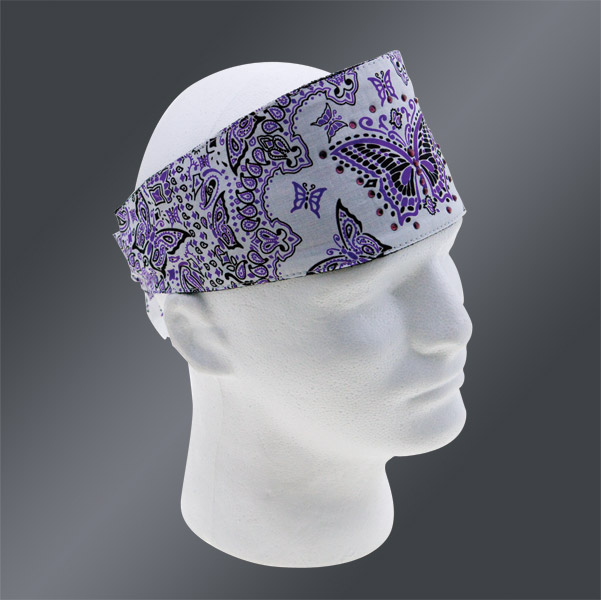 Chop Top Butterfly Girl Purple Doo Wrap