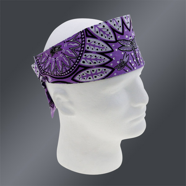 Chop Top Dragonfly Girl Lavender Doo Wrap